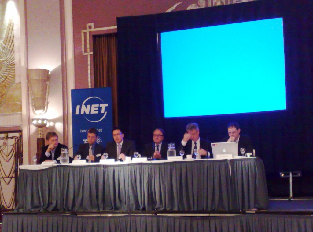 Second panel INET London 2010