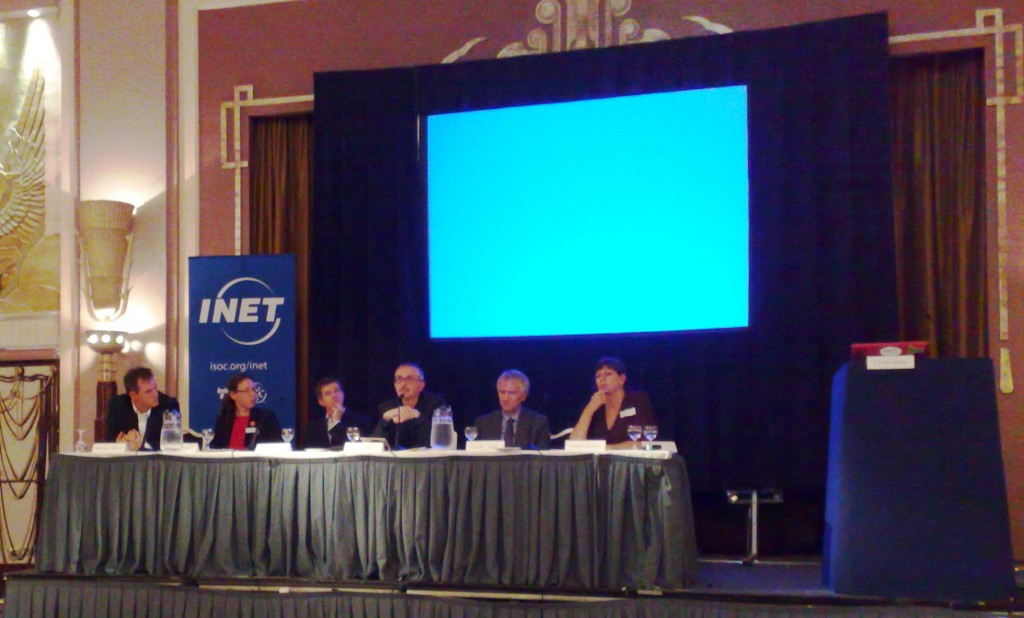 Third panel INET London 2010